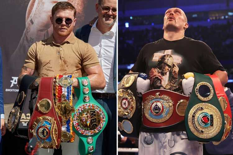 Anthony Joshua's promoter Eddie Hearn says Oleksandr Usyk is behind only Canelo Alvarez in boxing pound-for-pound list