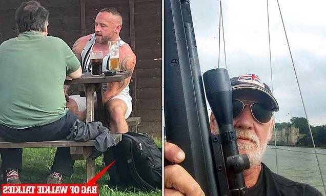 Anti-vax paramilitaries plotting to sabotage UK's jabs disbanded