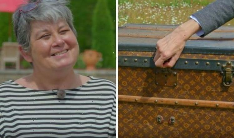 Antiques Roadshow guest staggered by valuation for Louis Vuitton trunk bought for £12