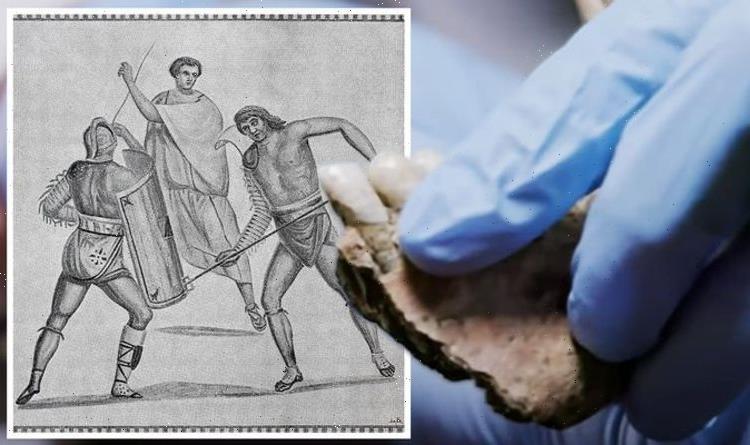 Archaeology breakthrough as origin of Britain's Roman gladiators discovered