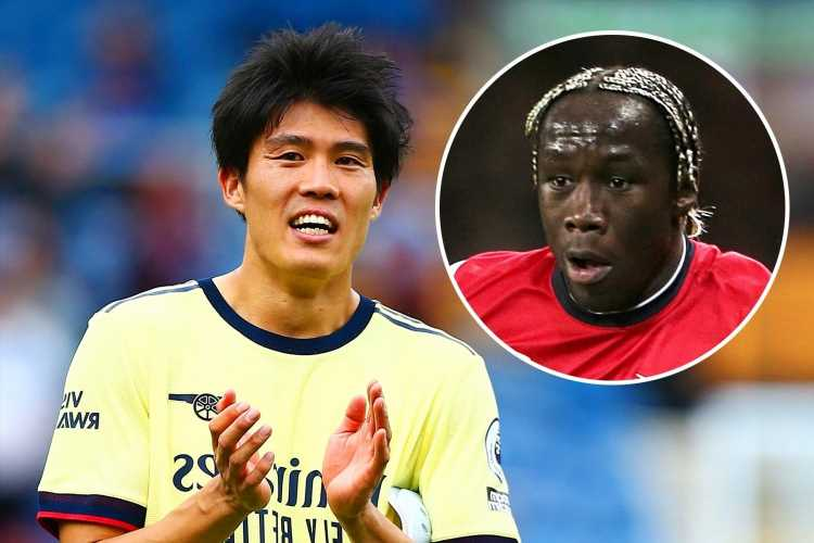 Arsenal fans reckon they've got 'new Bacary Sagna' in Takehiro Tomiyasu after incredible performance during Burnley win