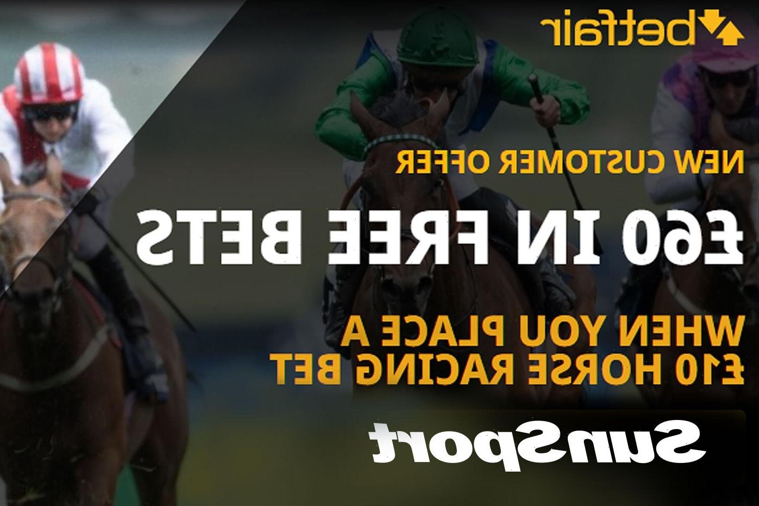 Bet £10, get £60 in FREE BETS to spend on Horse Racing with Betfair special offer