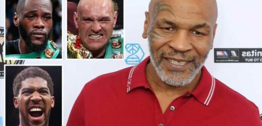 Boxing legend Mike Tyson believes he would've beaten heavyweight stars Fury, Anthony Joshua and Deontay Wilder in prime – The Sun