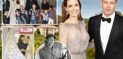 Brad Pitt and Angelina Jolie's divorce turns more toxic as they battle over £130million French mansion