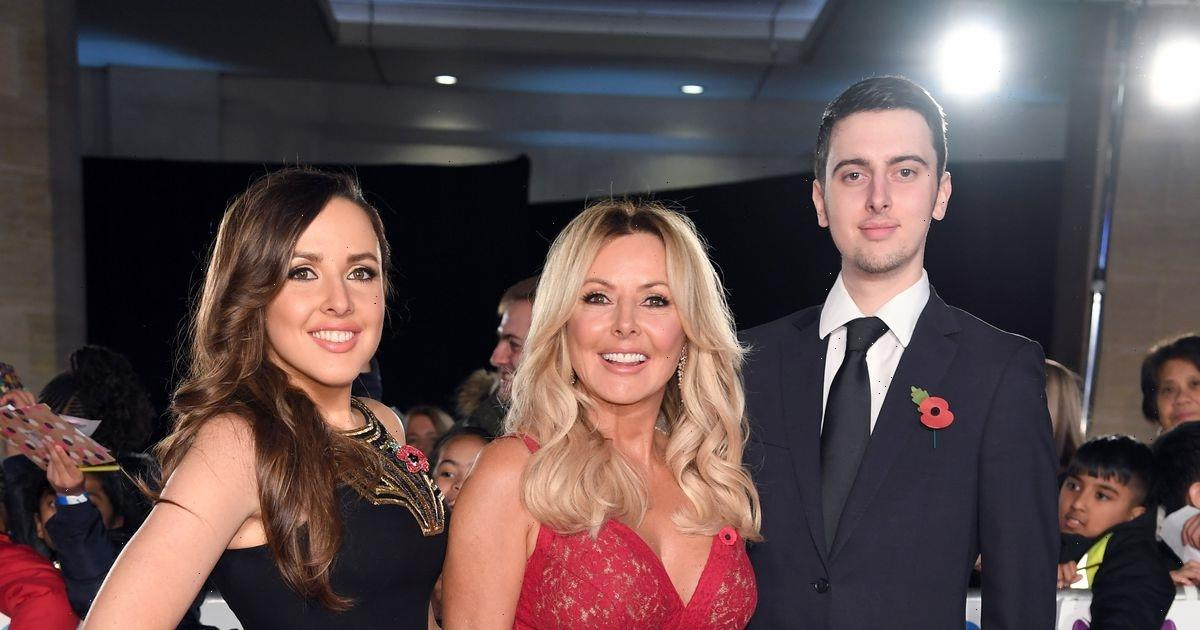 Carol Vorderman emotionally reveals son Camerons battle with learning difficulties
