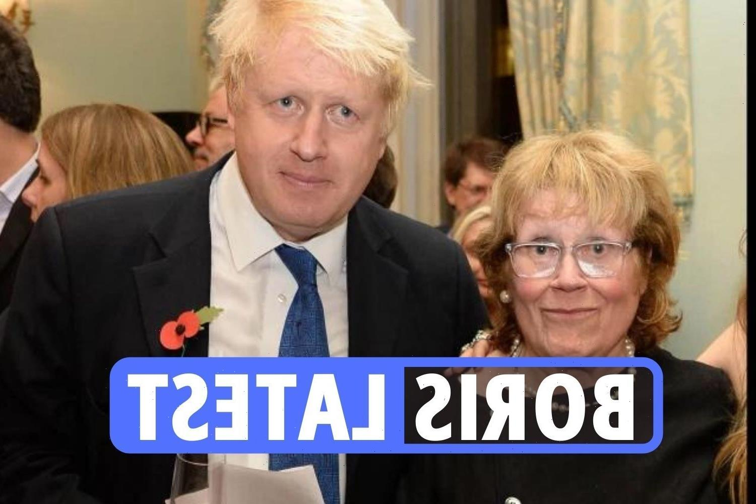 Charlotte Johnson Wahl tributes latest: Boris' mother passes away 'suddenly and peacefully' in hospital aged 79