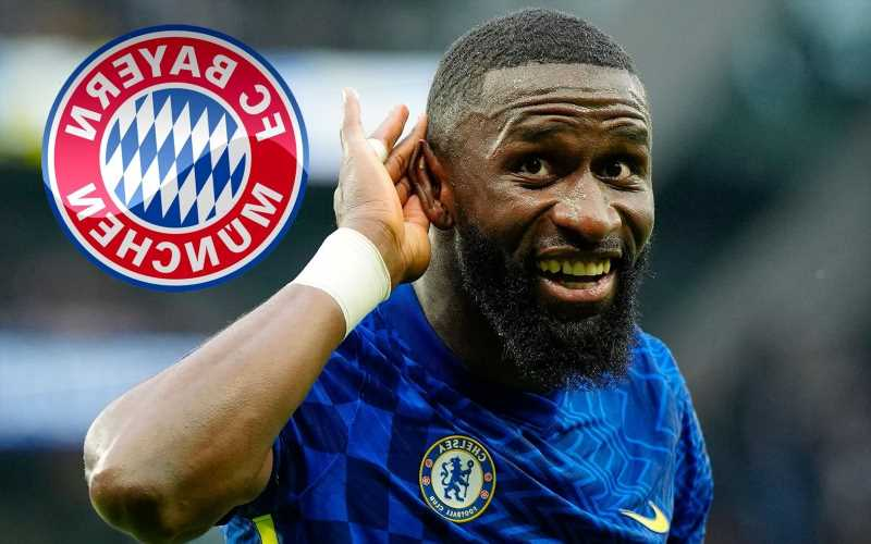 Chelsea contract rebel Rudiger 'contacted by Bayern' as they plot transfer for defender.. but wages could scupper deal