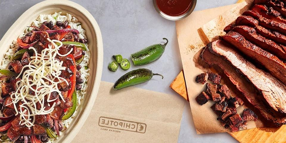 Chipotle Adds Smoked Brisket to Its Limited-Time Menu