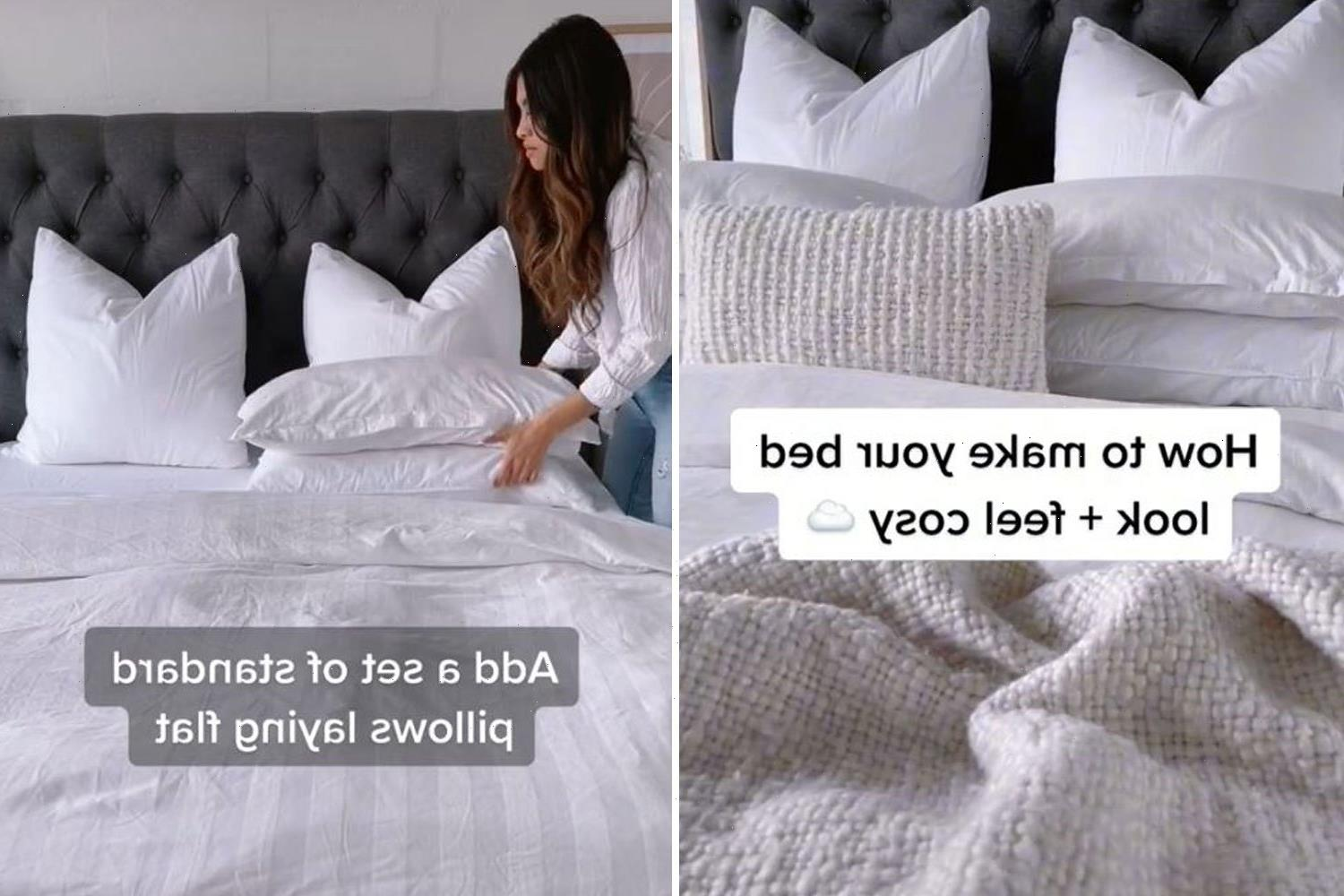 Cleaning expert reveals how to get your bed hotel room cosy every time – and it's all in the sheets