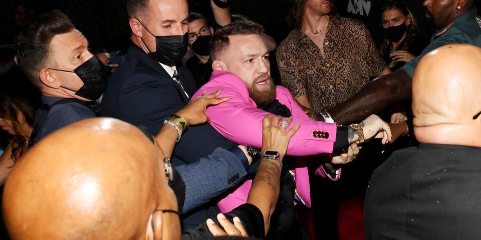 Conor McGregor and Machine Gun Kelly Get Into Altercation at MTV Video Music Awards
