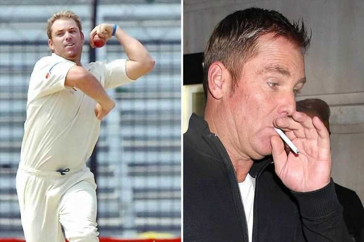 Cricket legend Shane Warne joked he tried smoking 100 cigarettes a day to cure Covid