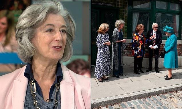 Dame Maureen Lipman say the Queen is 'such a geezer'