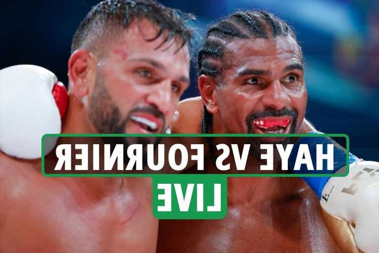 David Haye vs Joe Fournier LIVE RESULTS: Haye CALLS OUT Tyson Fury after points win on boxing comeback – latest reaction