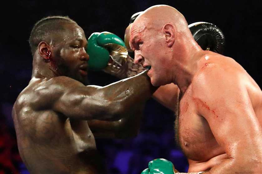 Deontay Wilder tells Tyson Fury to 'burn in hell' for using Covid as an 'excuse' to delay fight