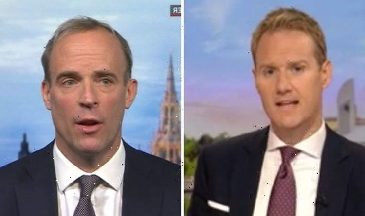 Dominic Raab's BBC interview savaged as he slams 'ridiculous' claims he'll be sacked