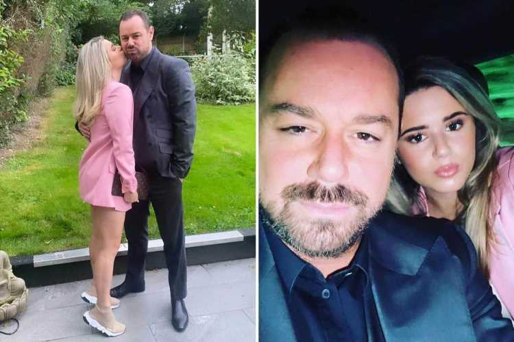 EastEnders' Danny Dyer brings rarely seen daughter Sunnie, 14 to NTAs and she looks just like sister Dani