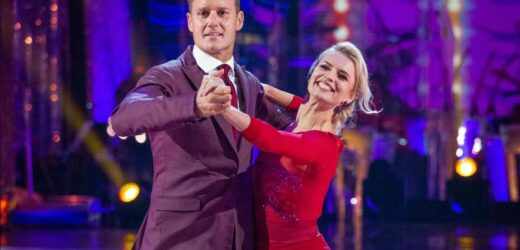 Emotional Dan Walker admits he's 'really struggling' with this week's Strictly dance and tells fans he's 'a sweaty mess'