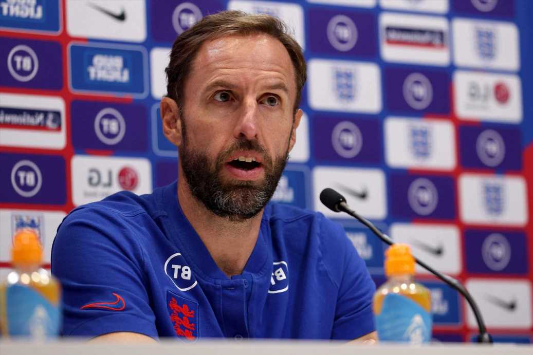 England name THREE right-backs in starting XI against Andorra as Southgate rings changes for World Cup qualifier