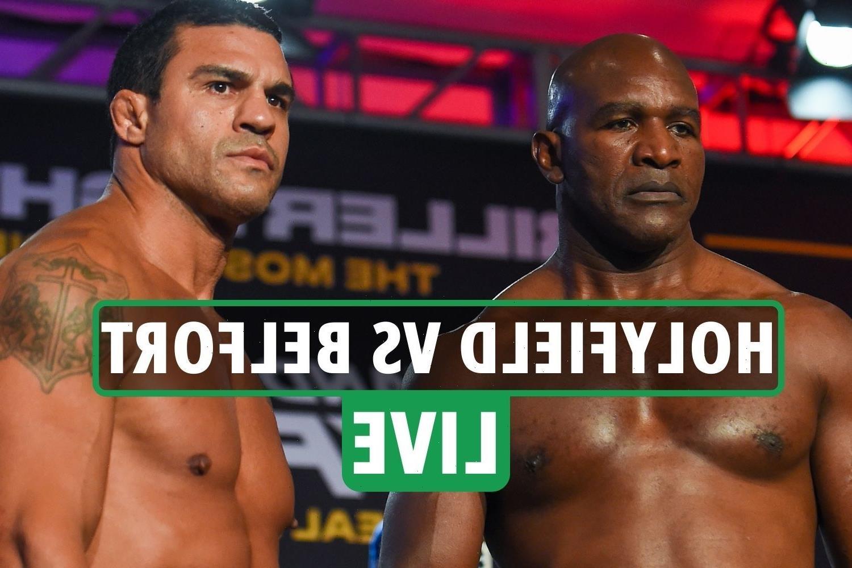 Evander Holyfield vs Vitor Belfort LIVE RESULTS: Anderson Silva vs Tito Ortiz undercard latest updates – stream, TV