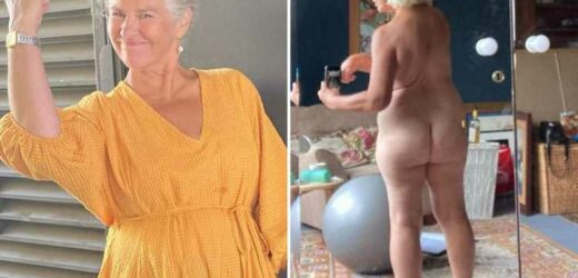 Ex Emmerdale and Coronation Street star Denise Black, 63, strips completely naked and says 'I'm proud of my body'