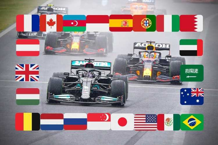 F1 calendar 2021: Grand Prix times, schedule, tracks with Russia NEXT followed by Turkey but Round 20 still 'TBC'