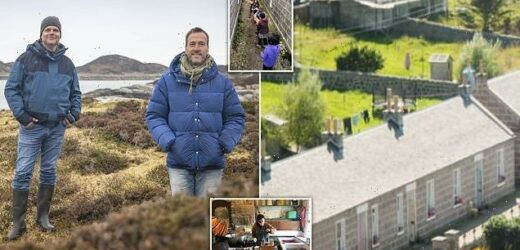 Former social worker reveals he lives in a spiritual community