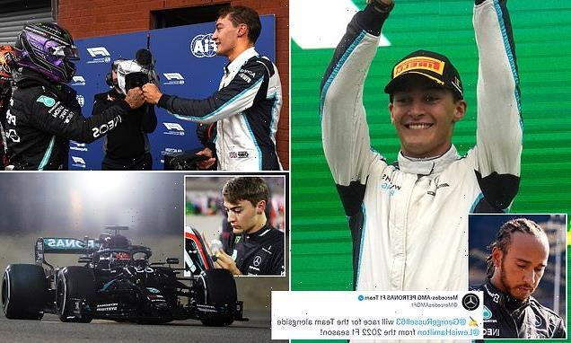 George Russell completes highly-anticipated move to Mercedes