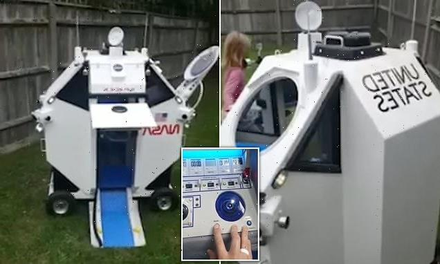 Grandfather builds NASA module for grandson who wants to be astronaut
