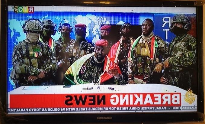 Guinea vs Morocco World Cup qualifier postponed after military coup as soldiers appear on state TV in takeover