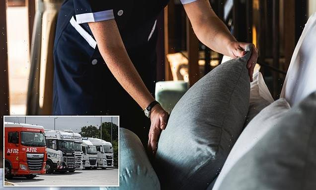 Hotel managers 'are taking bed linen home to be washed'