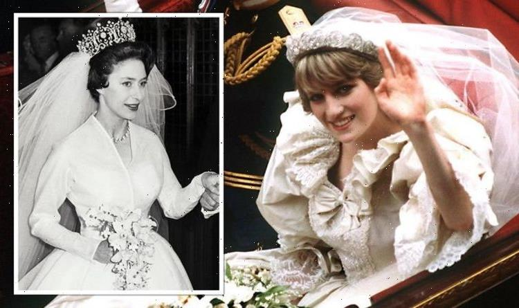 How Princess Diana followed Princess Margaret with break from royal wedding tradition