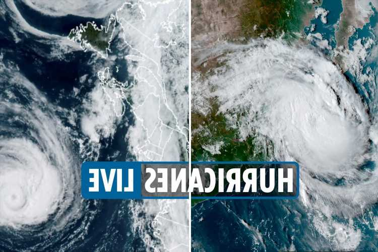 Hurricane Larry path tracker LIVE: Greenland braces for storm as Hurricane Olaf makes landfall in Mexico