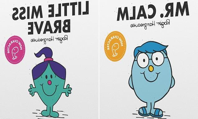 Iconic Mr Men collection releases Mr Calm and Little Miss brave