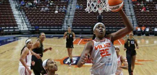 J. Jones named WNBA MVP as Sun grab awards