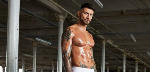 Jake Quickenden shows off muscles in sexy shoot before horror injury on Celeb SAS