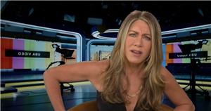 Jennifer Aniston baffled as Josie Gibson asks if she's a hooker in accent gaffe