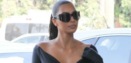 Kim Kardashian Wore the Daytime Version of Her Met Gala Look to CVS