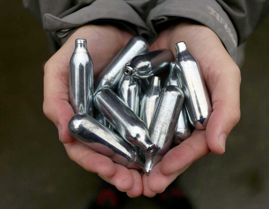 Laughing gas – also known as hippy crack – could be made illegal under drugs crackdown
