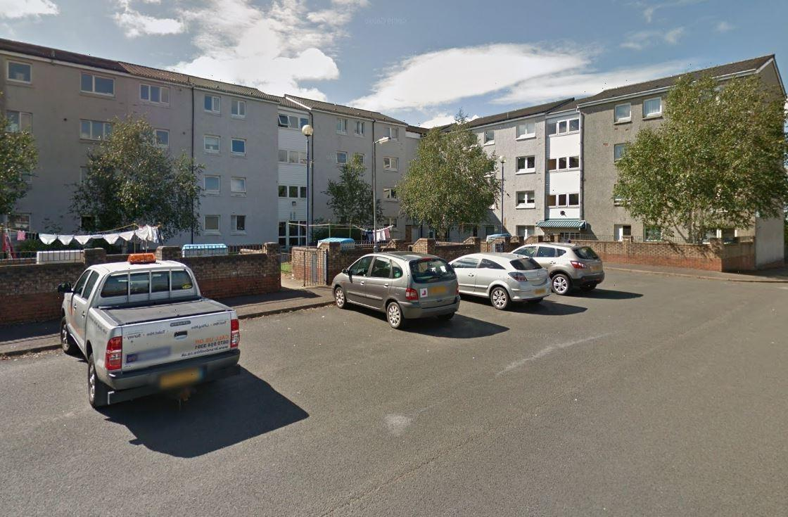 Little girl, 2, fighting for life after she plunges 40ft from top floor of four-storey block of flats