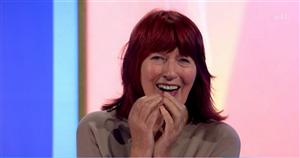 Loose Womens Janet Street-Porter mortified as Jane teases surprise stripper