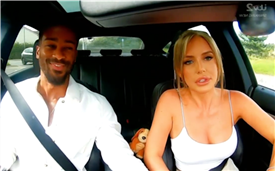 Love Island's Faye Winter slammed by fans as she drove Teddy around Devon on reunion show – but can you spot why?