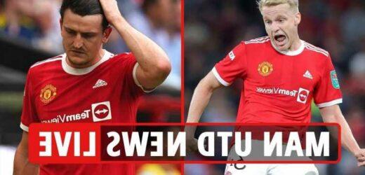 Man Utd news LIVE: Maguire injury updates, Villarreal build-up, Ferguson praises Ronaldo, Pogba & Fernandes contracts