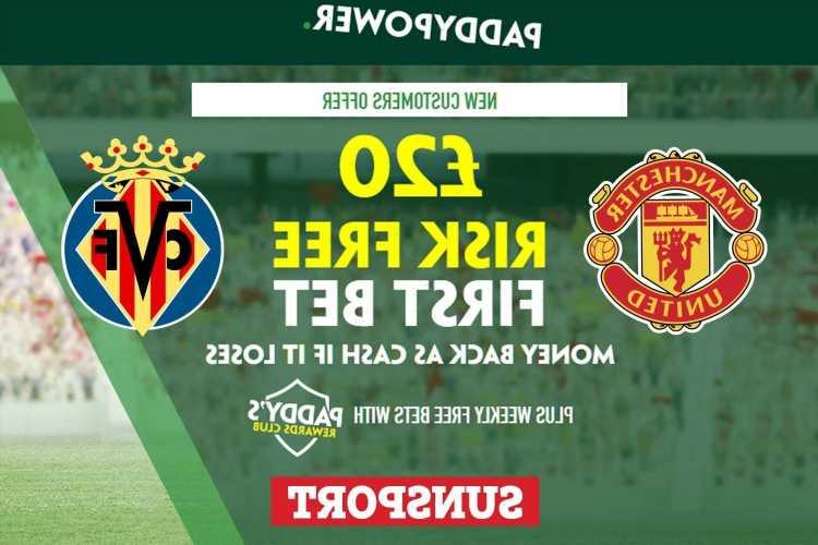 Man Utd vs Villarreal – Get £20 risk FREE BET on Champions League clash, plus 62/1 Cristiano Ronaldo Paddy Power special