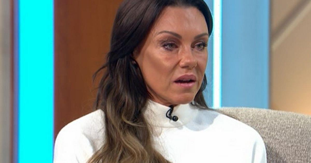 Michelle Heaton in tears as she admits she drank before Lorraine appearances