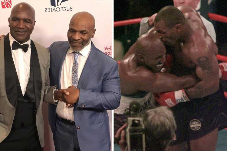 Mike Tyson 'scared' to fight Evander Holyfield despite being offered massive pay day, says Triller's Ryan Kavanaugh