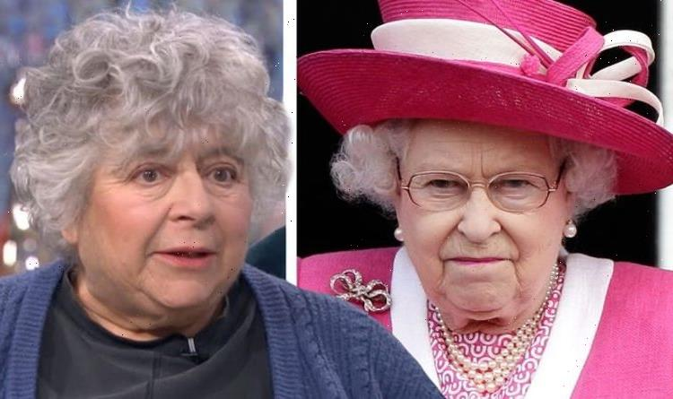 Miriam Margoyles reprimanded by The Queen for interrupting in 'embarrassing' gaffe