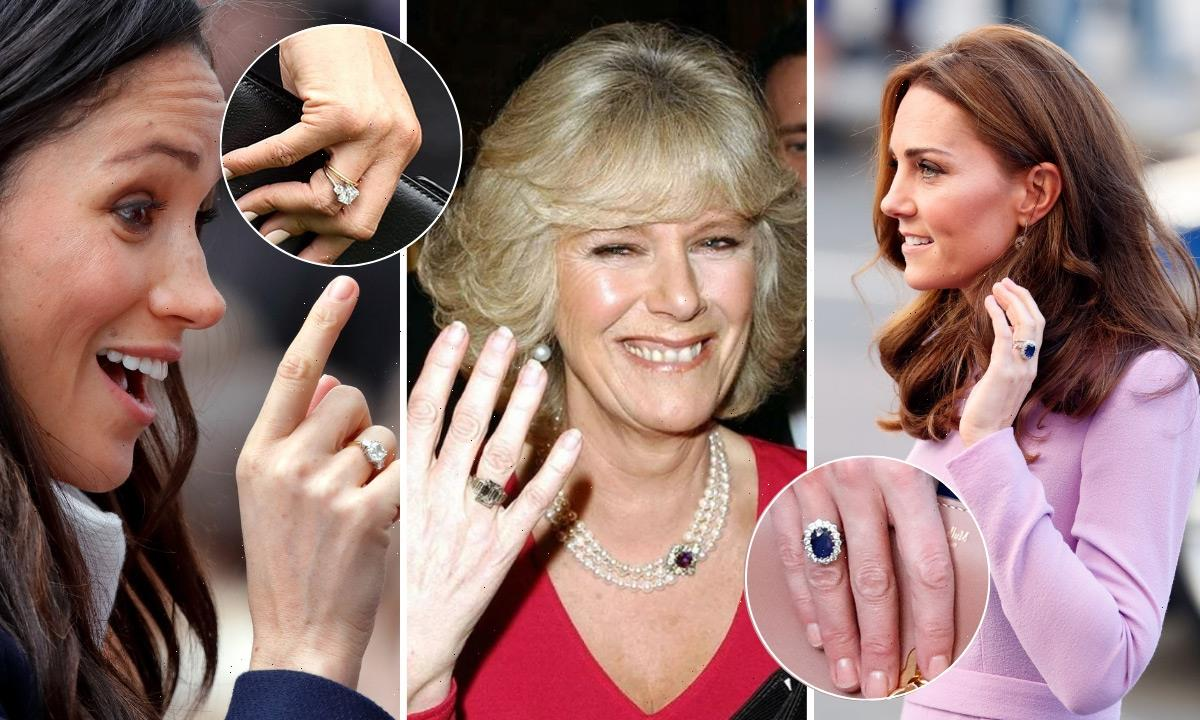 Most expensive royal engagement rings: Meghan Markle, Duchess Camilla and more
