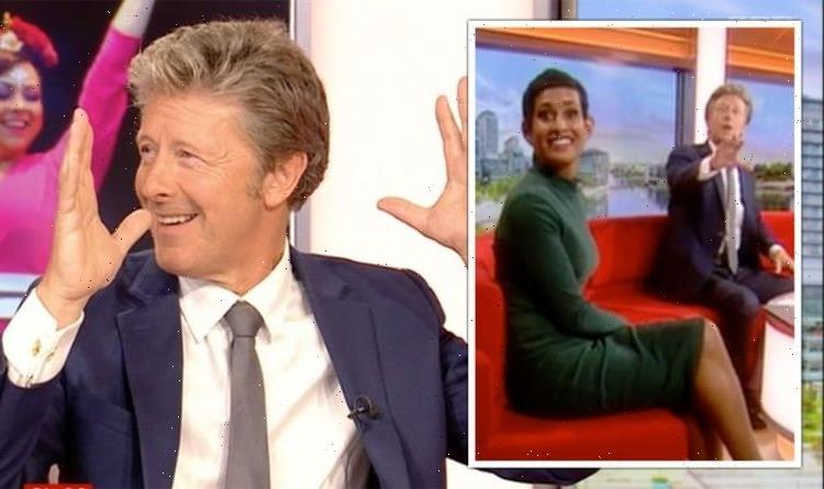 Naga Munchetty scolded as she refuses Steps request Youre not doing it