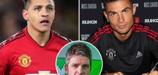 Noel Gallagher insists he is 'happy' Cristiano Ronaldo did not join Man City as he compares Man Utd icon to flop Sanchez