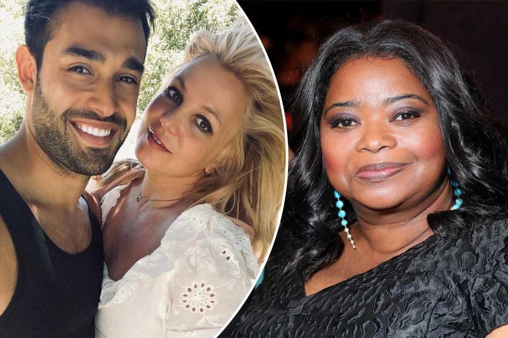 Octavia Spencer tells Britney Spears to make Sam Asghari sign a prenup